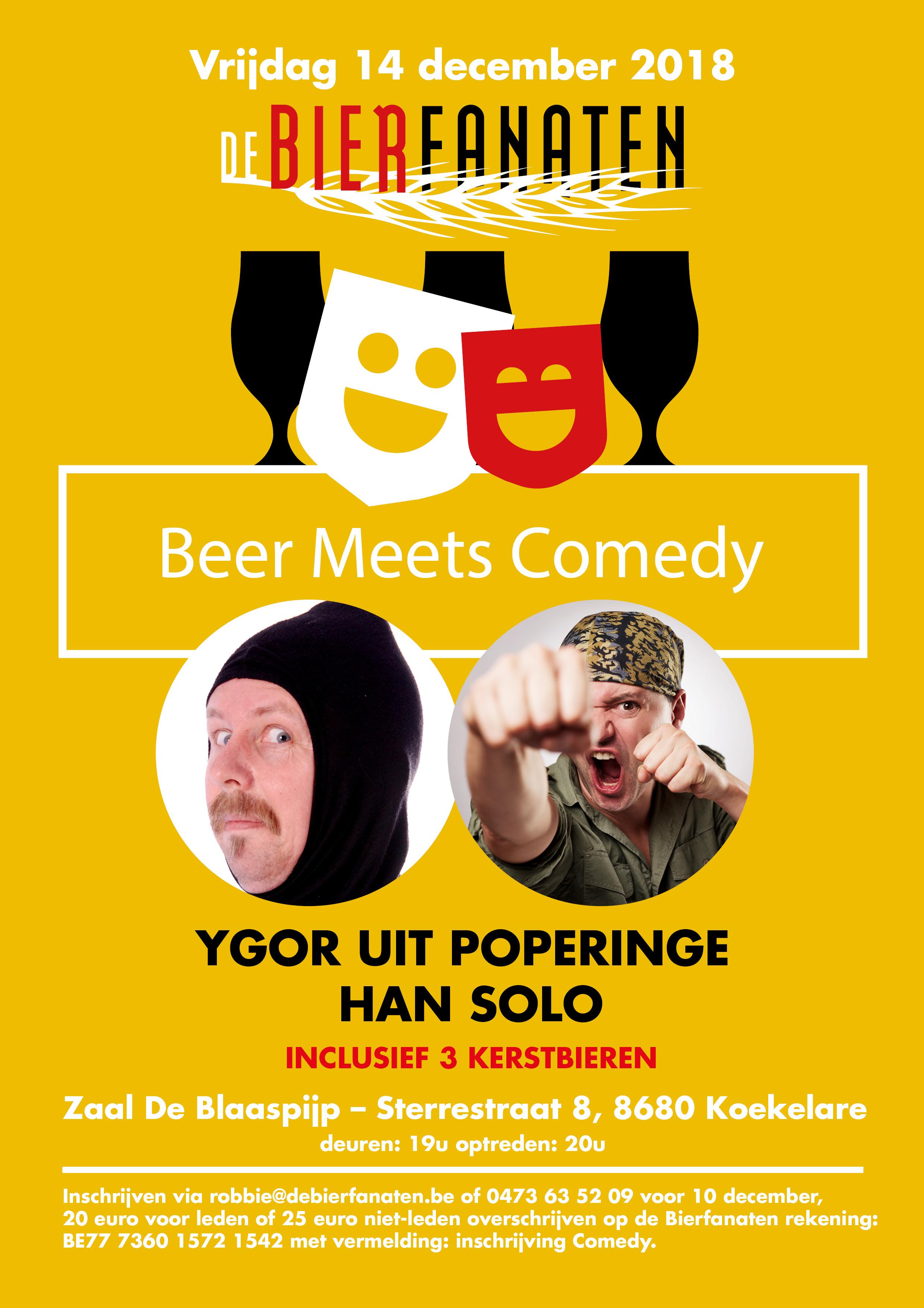 vzw De Bierfanaten Beer Meets Comedy 3