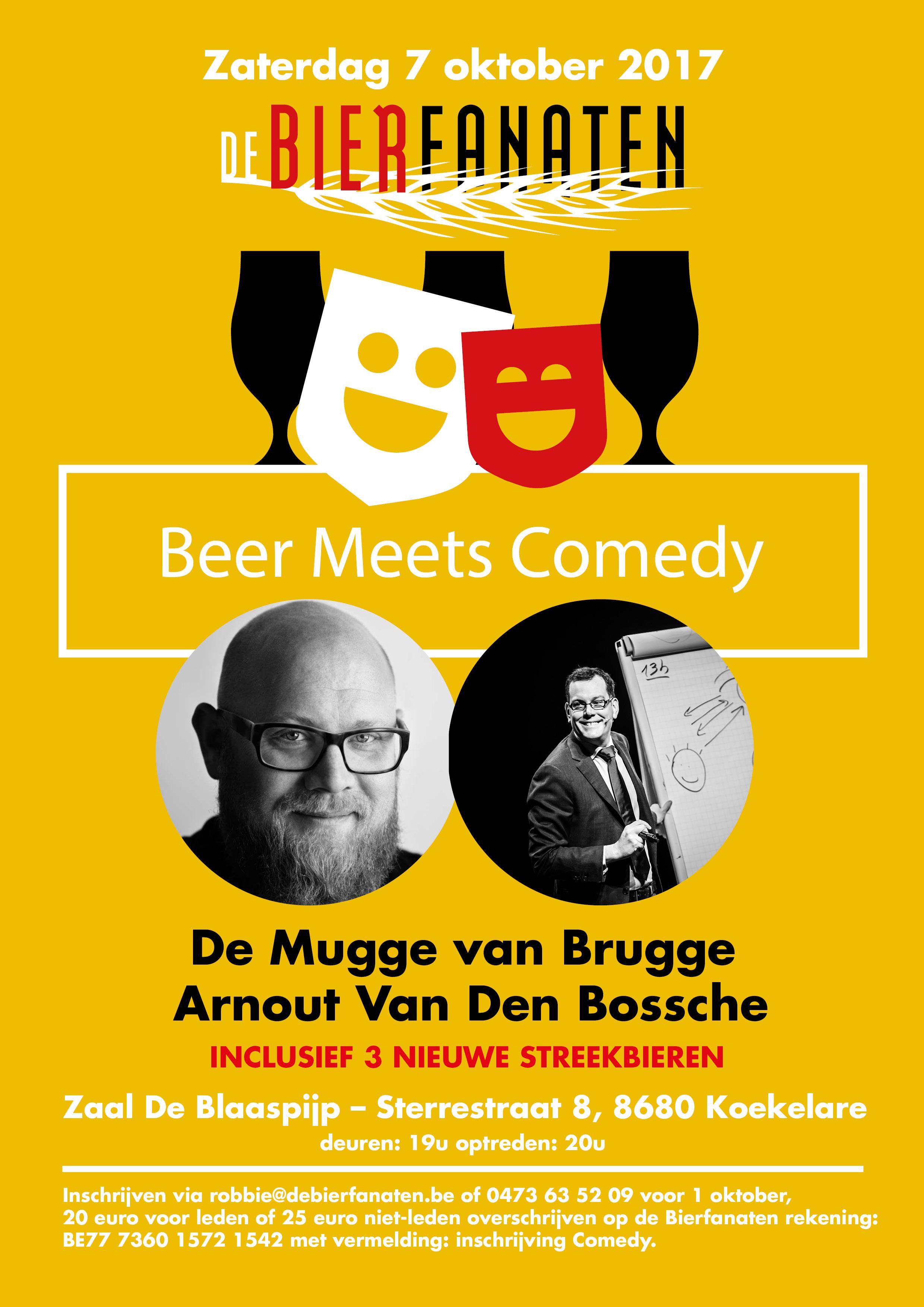 vzw De Bierfanaten Beer Meets Comedy Part 2