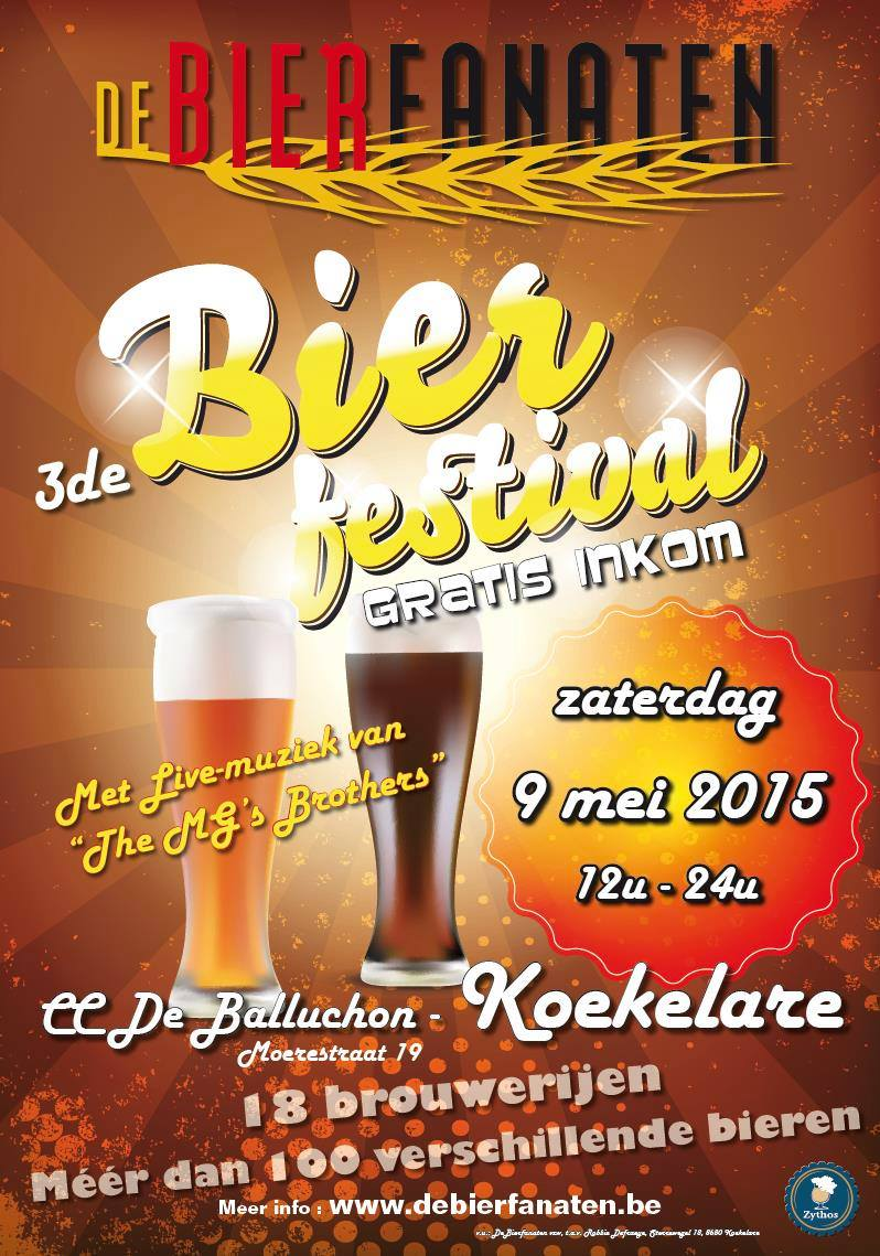 vzw De Bierfanaten Streekbierenfestival 2015