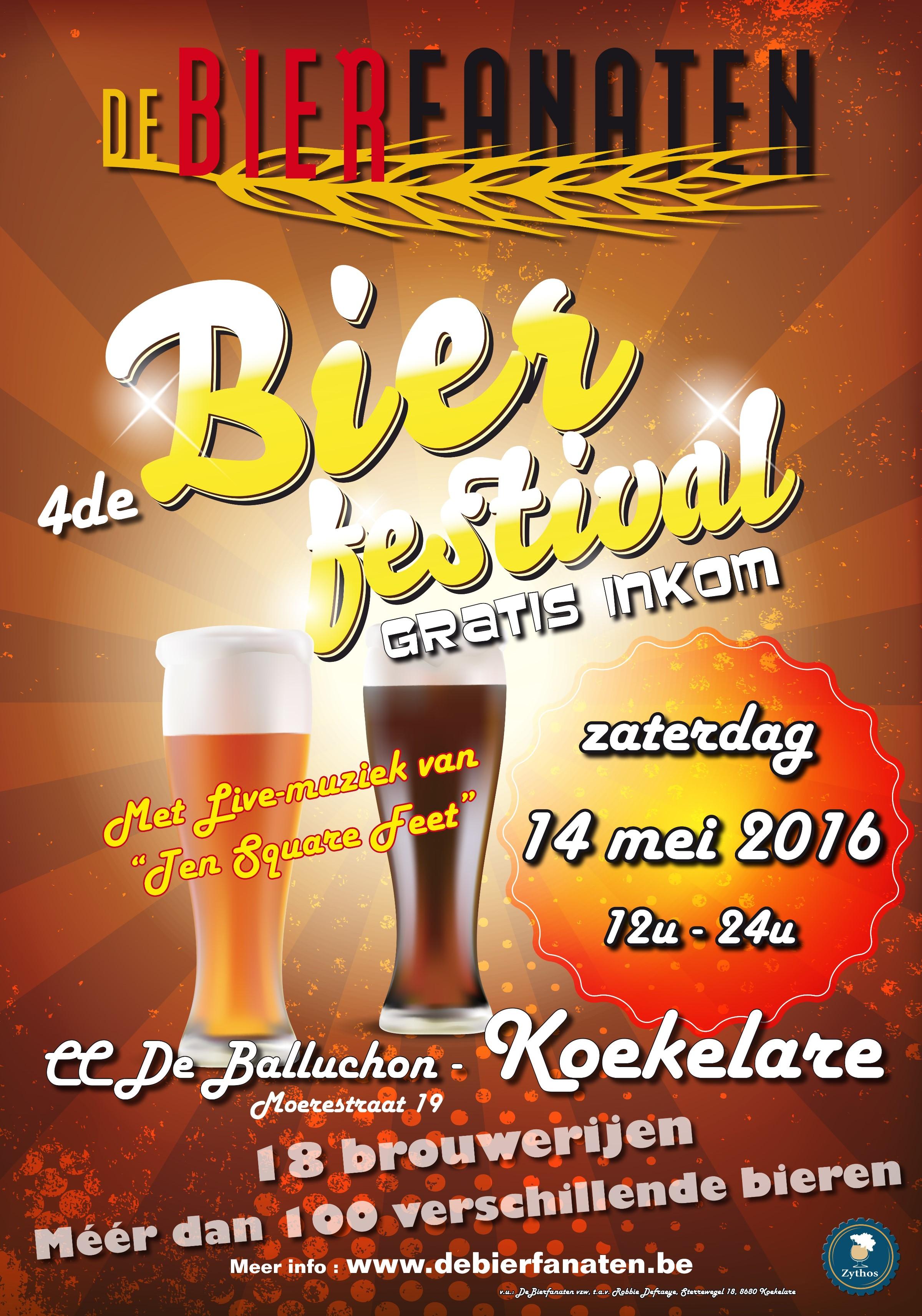 vzw De Bierfanaten Bierfestival 2016
