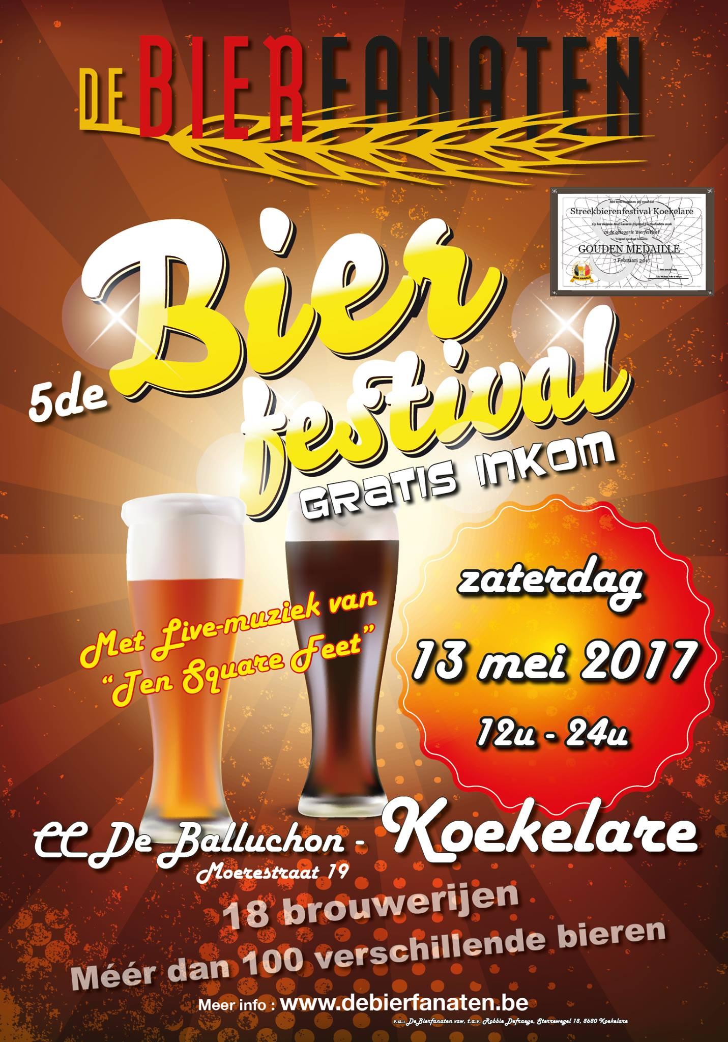 vzw De Bierfanaten Streekbierenfestival 2017