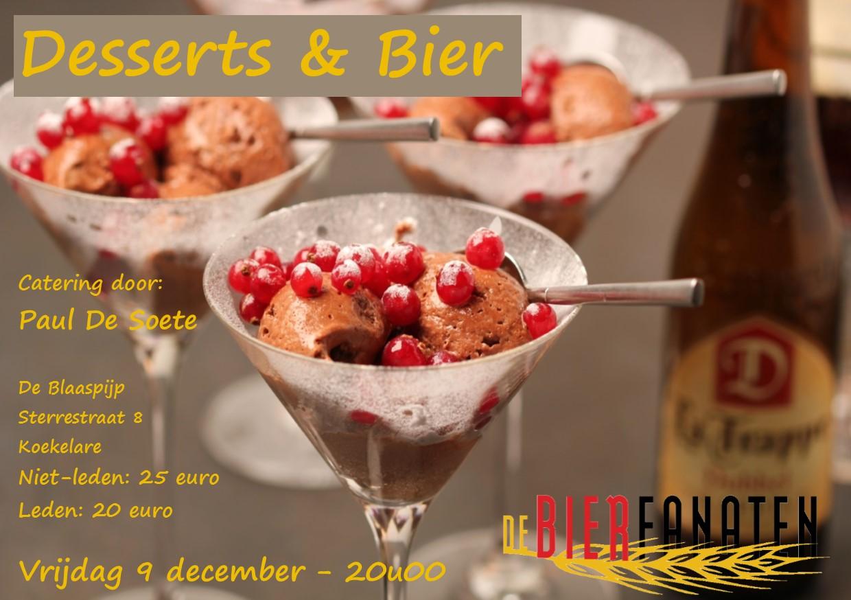 vzw De Bierfanaten Desserts & Bier