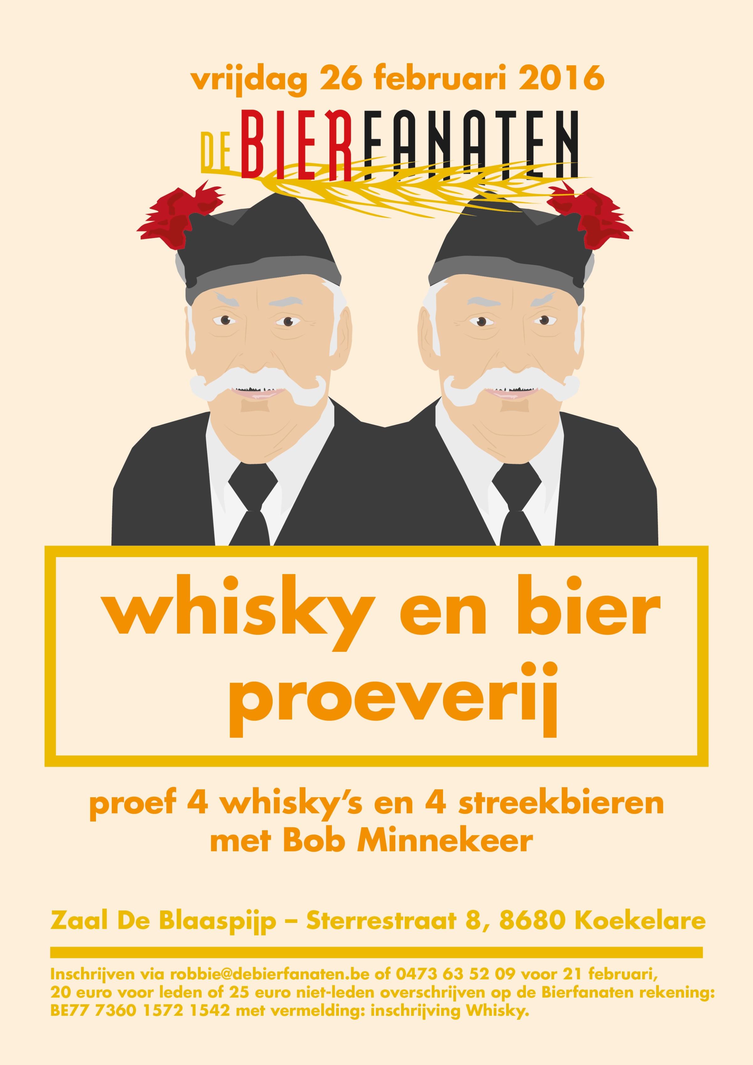 vzw De Bierfanaten Whisky En Bier